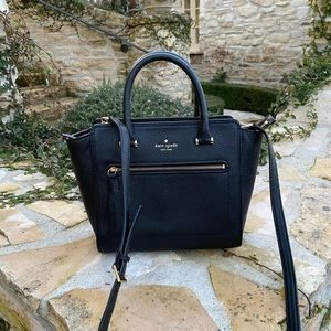 NWT Kate spade allyn Chester street handbag black